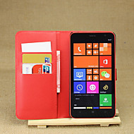 Na Etui Nokii Portfel / Etui na karty / Z podpórką Kılıf Futerał Kılıf Jeden kolor Twarde Skóra PU Nokia Nokia Lumia 1320
