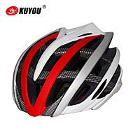preiswerte -Helm (Gelb/Weiß/Grün/Rot/Schwarz/Blau/Purpur , PC/EPS) - Voller Querschnitt/Berg/Strasse/Sport - für  Unisex 30 Öffnungen
