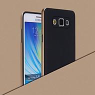 Для Кейс для  Samsung Galaxy Покрытие Кейс для Задняя крышка Кейс для Один цвет Силикон Samsung A8 / A7 / A5 / A3