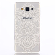 billige Etuier / covers til Galaxy A-modellerne-Etui Til Samsung Galaxy Samsung Galaxy etui Transparent Mønster Bagcover Mandala-mønster TPU for A7(2016) A5(2016) A3(2016) A9 A8 A7 A5 A3