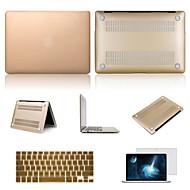 """yüksek kaliteli katı renkleri """"macbook hava 13.3 için ekran koruyucu ve klavye flim ile zor durumda pvc"""