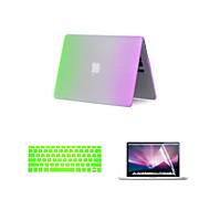 MacBook Θήκη για MacBook Air 13 ιντσών Διαβάθμιση χρώματος Πλαστικό Υλικό
