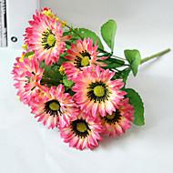 お買い得  -人工花 1 ブランチ シンプルなスタイル ヒマワリ テーブルトップフラワー