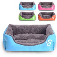 Χαμηλού Κόστους Καθημερινές προσφορές-Γάτα Σκύλος Κρεβάτια Κατοικίδια Χαλάκια & Μαξιλαράκια Μονόχρωμο Αδιάβροχη Cute Πορτοκαλί Τριανταφυλλί Πράσινο Μπλε Για κατοικίδια