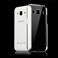 Недорогие Чехлы и кейсы для Galaxy Core Prime-Кейс для Назначение SSamsung Galaxy Кейс для  Samsung Galaxy Прозрачный Кейс на заднюю панель Однотонный ТПУ для Core Prime