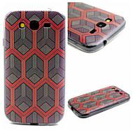 Для Кейс для  Samsung Galaxy С узором Кейс для Задняя крышка Кейс для Геометрический рисунок TPU SamsungJ1 / Grand Prime / Grand Neo /