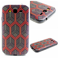 Mert Samsung Galaxy tok Minta Case Hátlap Case Mértani formák TPU SamsungJ1 / Grand Prime / Grand Neo / Core Prime / Core Plus / Core 2 /