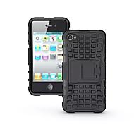 お買い得  -DE JI ケース 用途 Apple iPhone 7 / iPhone 7 Plus / iPhone 6 Plus 耐衝撃 / スタンド付き バックカバー ソリッド ハード TPU のために iPhone 7 Plus / iPhone 7 / iPhone 6s Plus