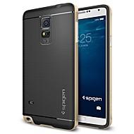 Недорогие Чехлы и кейсы для Galaxy Note-Для Samsung Galaxy Note Покрытие Кейс для Задняя крышка Кейс для Геометрический рисунок TPU SamsungNote 5 Edge / Note 5 / Note 4 / Note 3