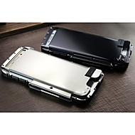 Недорогие Чехлы и кейсы для Galaxy S-Кейс для Назначение SSamsung Galaxy Кейс для  Samsung Galaxy Защита от удара Чехол броня Металл для S6 edge