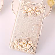 For Samsung Galaxy Note7 Card Holder / Rhinestone / with Stand / Flip Case Full Body Case 3D Cartoon PU Leather SamsungNote 7 / Note 5 /