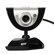 baratos Webcams-usb 2.0 16m cam câmara Web HD com microfone 9 efeitos de vídeo diferentes para laptop skype desktop do computador pc