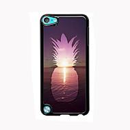 お買い得  iPod 用ケース/カバー-iPod touchの5のための海の設計アルミ高品質の場合にはパイナップル