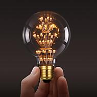 ecolight® e27 3w led 전구 3700k 따뜻한 흰색 로프트 레트로 산업 스타일 전구 edison 전구 ac220 ~ 240v
