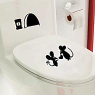 billige Badeværelsesartikler-Bade Appliqués Toilet / Badekar / Bruser / Medicin Skabe Plastik Multi-funktion / Miljøvenlig / Tegneserier / Gave