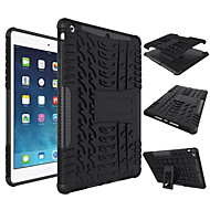 cheap -For Case Cover Shockproof with Stand Back Cover Case Solid Color Hard Silicone for Apple iPad (2017) iPad Air  Pro9.7 mini 1234 Pro10.5