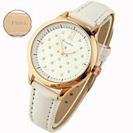 Gepersonaliseerde Gift - voor Dames - Analoog - Horloge - met Echt Leer - Band