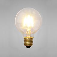 お買い得  -COSMOSLIGHT 1個 2つ E14 E26/E27 G80 イエロー 2300 K 装飾用 白熱ビンテージエジソン電球 AC 220V AC 220-240V V