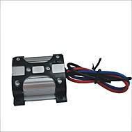 10aは12V電源フィルタ - 黒+銀(15センチメートル)