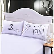 Poduszka na łóżko , Biały 80% Puch gęsi/20% Pierze gęsie