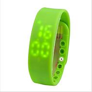 Недорогие Браслеты и трекеры для активного образа жизни-W2 Датчик для отслеживания активности Смарт Часы Умный браслет iOS Android iPhone Температурный дисплей Защита от влаги Педометры