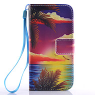 cheap Cases / Covers for Samsung-Case For Samsung Galaxy Samsung Galaxy Case Card Holder Wallet with Stand Flip Full Body Cases Cartoon PU Leather for S6 edge plus S6