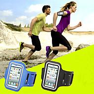 お買い得  携帯電話ケース-ケース 用途 iPhone 6s Plus / iPhone 6 Plus アームバンド ソフト カーボンファイバー のために