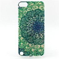 Custodia morbida tpu motivo pittura mandala per ipod touch 5 custodie / cover per iPod