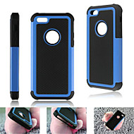 hybrid vanskelig sak rustning heavy duty hard cover støtsikker for Apple iPhone 5c (assorterte farger)