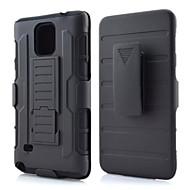 de ji TPU + PC 3 in 1 harnas zware robuuste invloed riemclip case cover voor Samsung Galaxy Note 3 / noot 4 / note 5