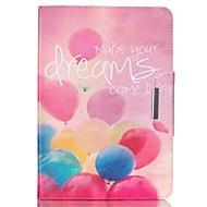 Для Кейс для  Samsung Galaxy Кошелек / Бумажник для карт / со стендом / Флип / С узором Кейс для Чехол Кейс для Занавес Искусственная кожа
