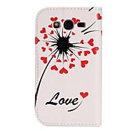 Недорогие Чехлы и кейсы для Galaxy J5-Для Кейс для  Samsung Galaxy Кошелек / Бумажник для карт / со стендом / Флип Кейс для Чехол Кейс для С сердцем Искусственная кожа Samsung