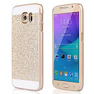 Недорогие Чехлы и кейсы для Samsung-Кейс для Назначение SSamsung Galaxy Samsung Galaxy S7 Edge С узором Задняя крышка Сияние и блеск PC для S7 edge S7 S6 edge plus S6 edge