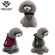 お買い得  -猫用品 / 犬用品 コート レッド / ホワイト / グリーン 犬用ウェア 冬 格子柄 コスプレ