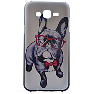 For Samsung Galaxy etui Mønster Etui Bagcover Etui Hund PC for Samsung J7 J5 J1