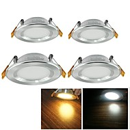 LED Recessed Lights 25 leds SMD 2835 Decorative Warm White Cold White 500lm 3000/6000K AC 100-240V