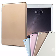 abordables Carcasas y Fundas para iPad-Funda Para iPad Air 2 Transparente Funda Trasera Color sólido TPU para iPad Air 2