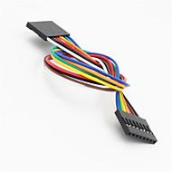 お買い得  Arduino 用アクセサリー-arduino-用メス延長ワイヤケーブル(20センチメートル)にデュポン8ピン2.54ミリメートルの女性