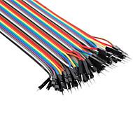 Mannetje naar mannetje Breadboard kabels voor elektronica DHZ'en (22cm)