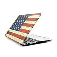 """2 w 1 Retro flagi usa pełna twardy plastik skrzynki pokrywa dla MacBook Pro 13 """"/ 15"""" + klawiatura przezroczystą pokrywę"""
