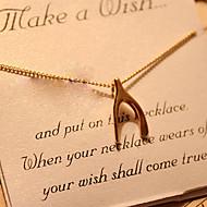 Недорогие $0.99 Модное ювелирное украшение-Жен. Ожерелья с подвесками - Крест 4 #, 5 #, 6 # Ожерелье Назначение Свадьба, Для вечеринок, Повседневные