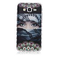 voordelige Galaxy J1 Hoesjes / covers-Voor Samsung Galaxy hoesje Patroon hoesje Achterkantje hoesje Sexy dame TPU SamsungJ7 / J5 / J3 / J2 / J1 Ace / J1 / Grand Prime / Core