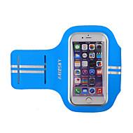 アームバンド 携帯電話バッグ のために レーシング サイクリング/バイク ランニング ジョギング スポーツバッグ 耐久性 タッチスクリーン ヘッドセット ランニングバッグ Iphone 6/IPhone 6S/IPhone 7 他の同様のサイズの携帯電話 HAISKY