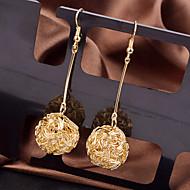ieftine Bijuterii&Ceasuri-Pentru femei Cercei Picătură - Elegant Modă Argintiu Auriu Bijuterii cercei Pentru Nuntă Petrecere Ocazie specială