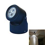 tanie Żarówki LED podtynkowe-3W 240-300lm GU10 Oświetlenie podszafkowe Oświetlenie do pomieszczeń gospodarczych Światło ścienne Oświetlenie obrazów ogród Oświetlenie 3