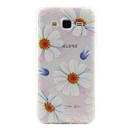 Назначение Кейс для  Samsung Galaxy Чехлы панели Прозрачный С узором Задняя крышка Кейс для Цветы Термопластик для SSamsung Galaxy J5 J2