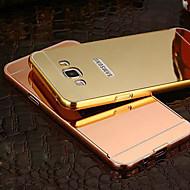 Недорогие Чехлы и кейсы для Galaxy A8-Кейс для Назначение SSamsung Galaxy Кейс для  Samsung Galaxy Покрытие Зеркальная поверхность Кейс на заднюю панель Сплошной цвет ПК для