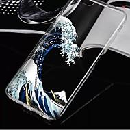 Недорогие Кейсы для iPhone 8 Plus-Кейс для Назначение Apple iPhone X / iPhone 8 / iPhone 8 Plus Прозрачный Кейс на заднюю панель Пейзаж Мягкий ТПУ для iPhone X / iPhone 8 Pluss / iPhone 8
