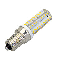 E14 Bombillas LED de Mazorca T 64 SMD 3014 400-500 lm Blanco Cálido Blanco Fresco 3500/6500 K Decorativa AC 100-240 V