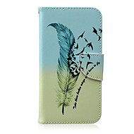 Недорогие Чехлы и кейсы для Galaxy J1-Для Кейс для  Samsung Galaxy Бумажник для карт / Кошелек / со стендом / Флип / С узором Кейс для Чехол Кейс для Перо Искусственная кожа